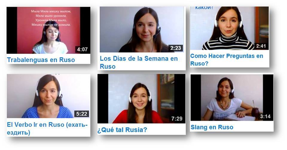 video lecciones de ruso